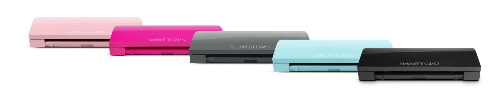 Silhouette Cameo 3 szines változatok 5 féle színben