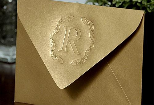 Silhouette Curio papír boríték domborítása
