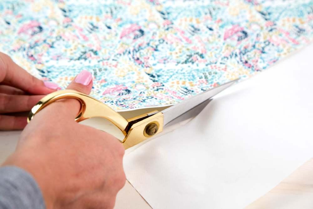 Silhouette textil stabilizátor használatának bemutatása, 1. lépés