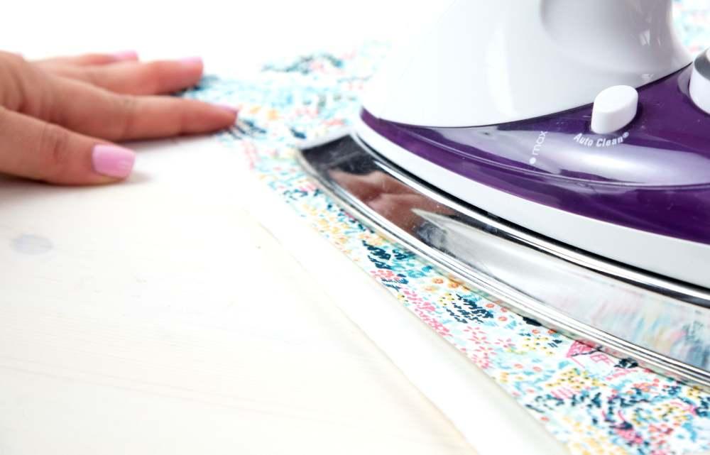 Silhouette textil stabilizátor használatának bemutatása, 2. lépés