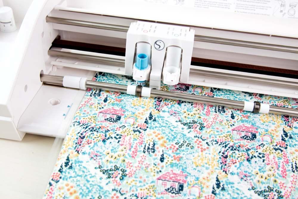 Silhouette textil stabilizátor használatának bemutatása, 4. lépés