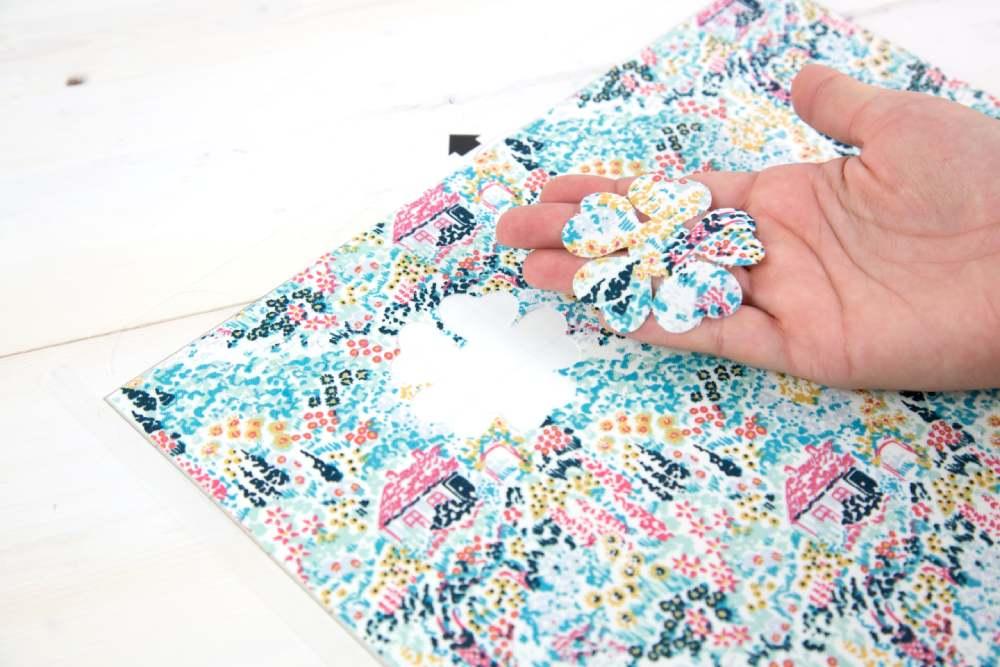 Silhouette textil stabilizátor használatának bemutatása, 5. lépés