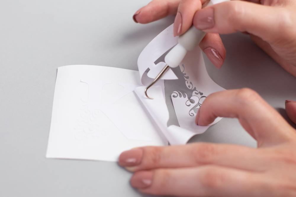Silhouette öntapadó vinyl használatának bemutatása, 2. lépés