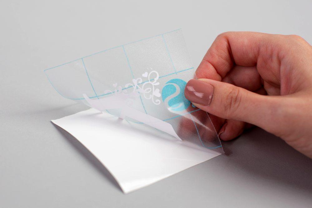 Silhouette öntapadó vinyl használatának bemutatása, 4. lépés