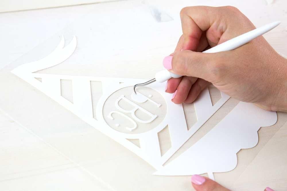 Silhouette vasalható transzferek használatának bemutatása, 3. lépés