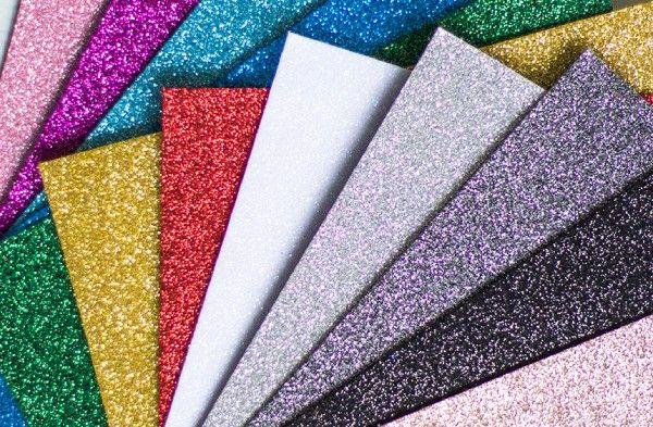 Glitter fóliák - lapok