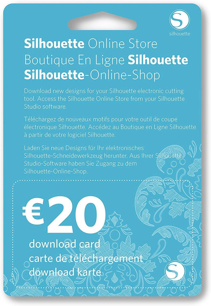 Silhouette Design Store - letöltő kártya
